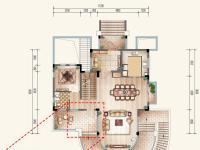 独栋别墅(两层)户型