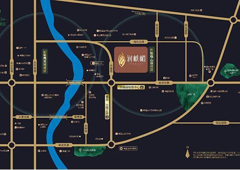 润峨嵋规划图