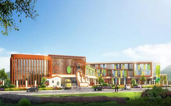 城北幼儿园新建方案图